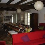 4.salle à manger-salon, grande maison renovée